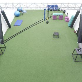 GYM_green floor_equipment2997